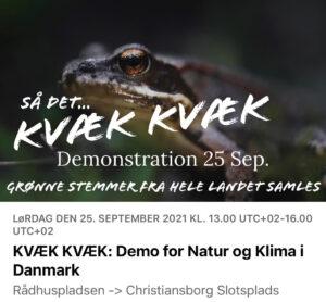 Demonstration 25 sept